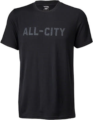 All-City Merino Logo T-Shirt - Black alternate image 2