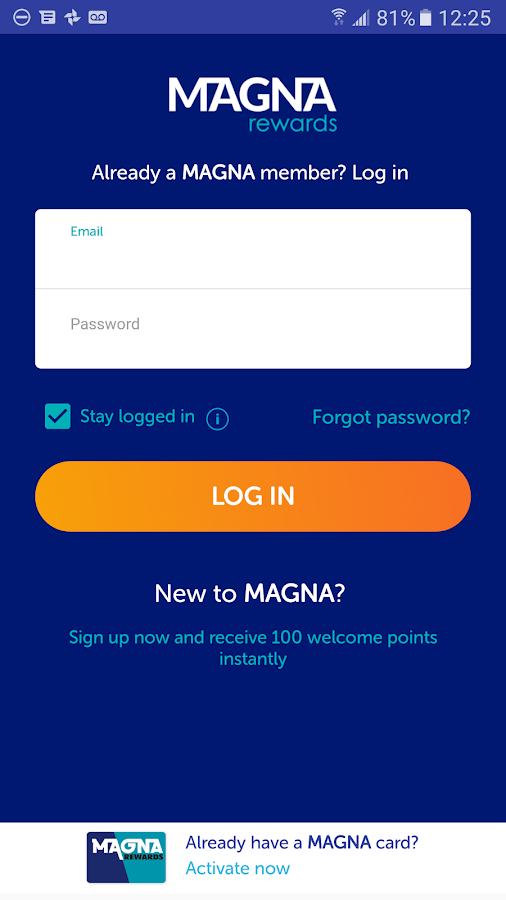 Magna Rewards- screenshot
