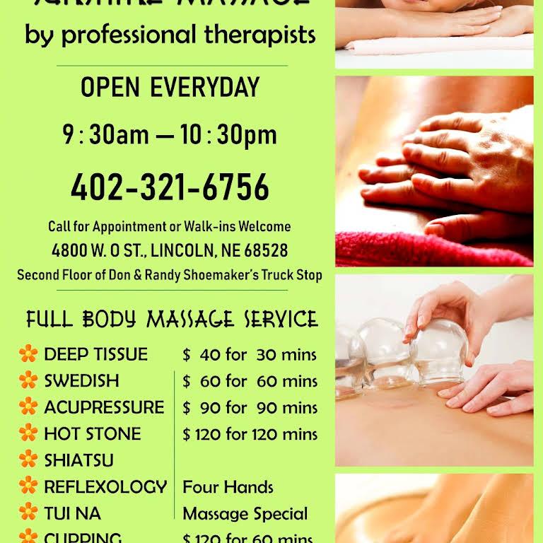 Massage Therapy Lincoln Ne