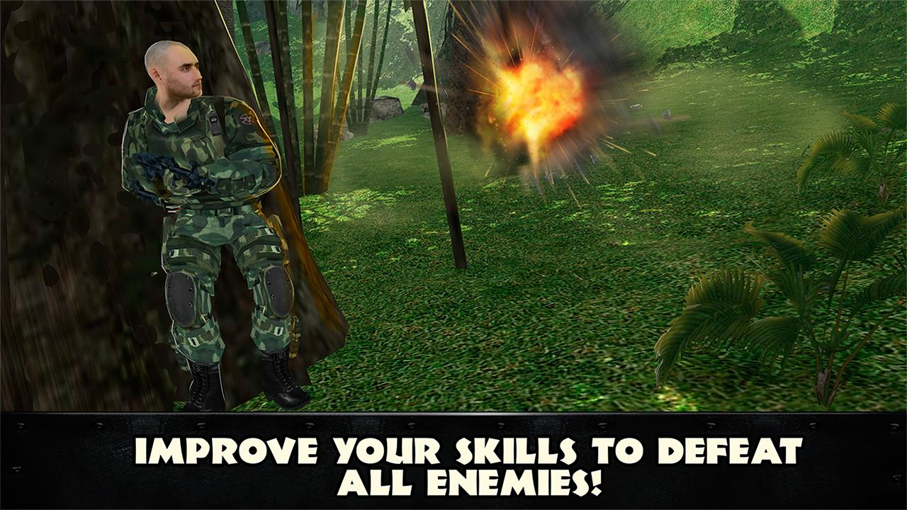 Jungle Commando 3D: Shooter- screenshot