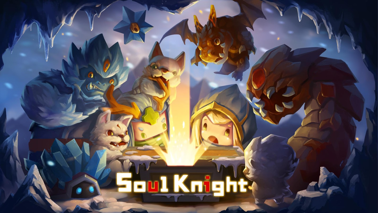 Adventure Time Wallpaper Hd Android Soul Knight Android Apps On Google Play