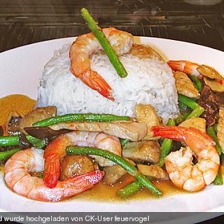 Pad Hed Nam Prik Gapi - Thailand Recipe
