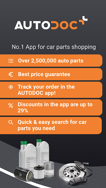 AUTODOC — Auto Parts at Low Prices Online Android App Screenshot