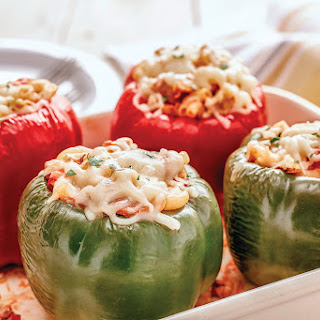 Stuffed Peppers with Gluten-free Macaroni