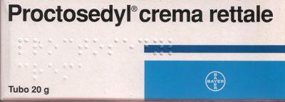 proctosedyl crema 20g