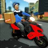 City Courier Moto Delivery Rider