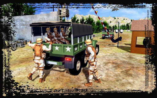 Army Truck Simulation 2018 : Best truck games ss2