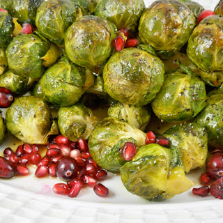 Roasted Brussels Sprouts.