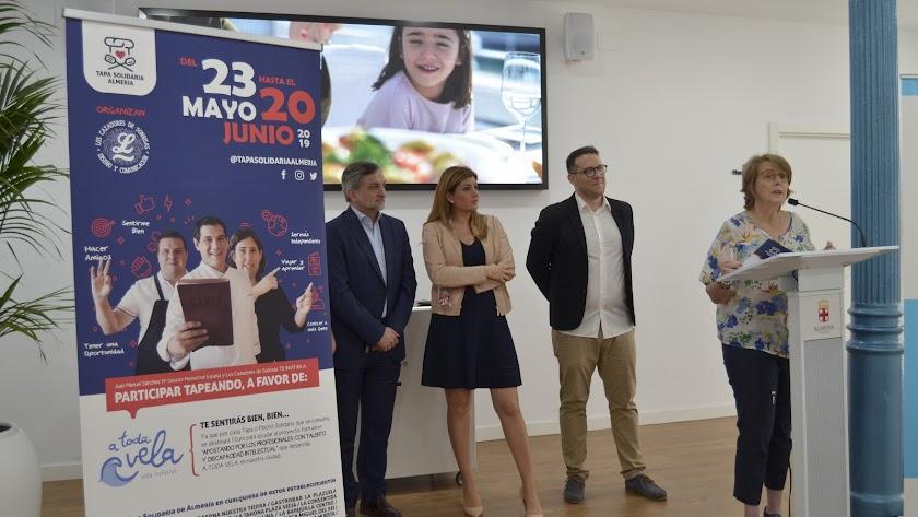 Presentación de la Ruta de la Tapa Solidaria.