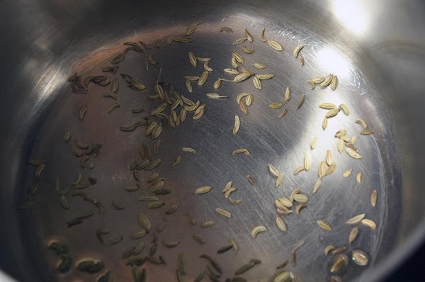 In a saucepan over medium heat, add the fennel seeds and toss them in...