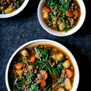 Lentil and Potato Stew.
