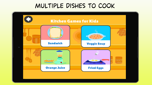 Kitchen Games - Fun Kids Cooking & Tasty Recipes 1.0 screenshots 14