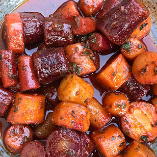 Spanish Marinated Carrots.
