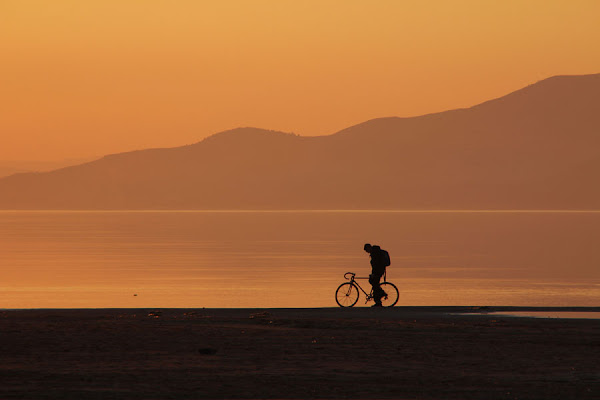 lonely biker di matteofiacchino