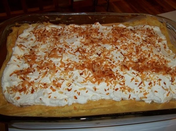 Make whipped cream or use a 12 ounce cool whip.  Pour the cream into a...