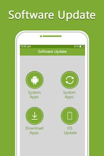 Update Apps & System Software Update - náhled