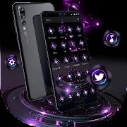 App Violet Neon Tech Business Theme APK for Windows Phone
