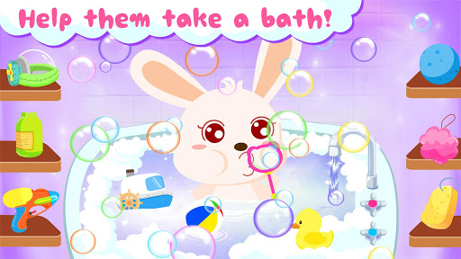 Baby Panda's Bath Time apkpoly screenshots 2