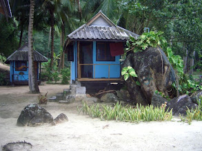 Photo: The inner huts.