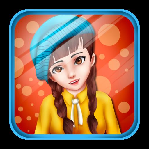 休闲のエレガントな女の子のドレス LOGO-記事Game