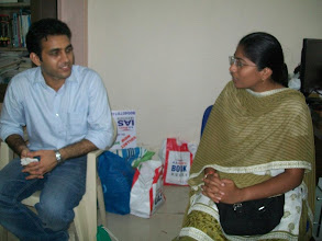 Photo: UPSC Toppers Seminar 2012 with topper Mr. Ajay Kumat AIR 679 & Tejaswi Satpute AIR 198 at A A SHAH's IAS Institute, FORT