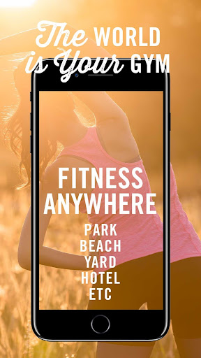 Fitness Anywhere screenshot 1