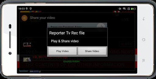 Reporter Tv Rec Pro  4