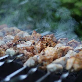 Pork Kabobs - Pinchos.