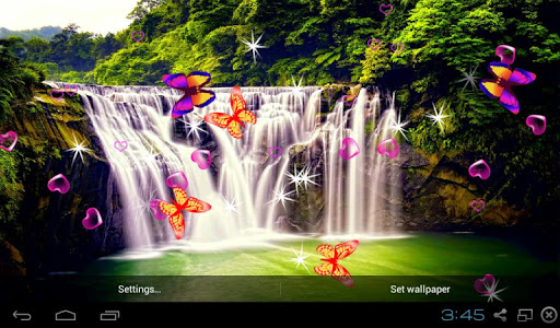 3D Waterfall LWP