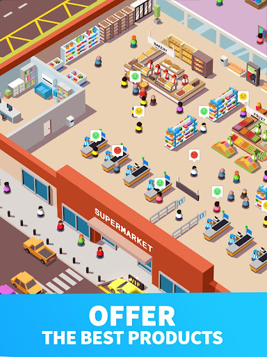 Idle Supermarket Tycoon - Tiny Shop Game 2.2.8 screenshots 10
