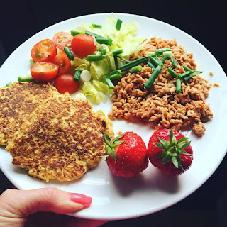 Low Carb Courgetti Cakes.