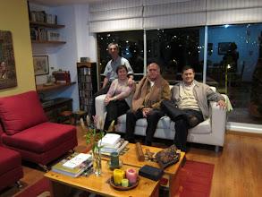 Photo: Julio Mario, Sandra, Alonso og Luis Edouardo
