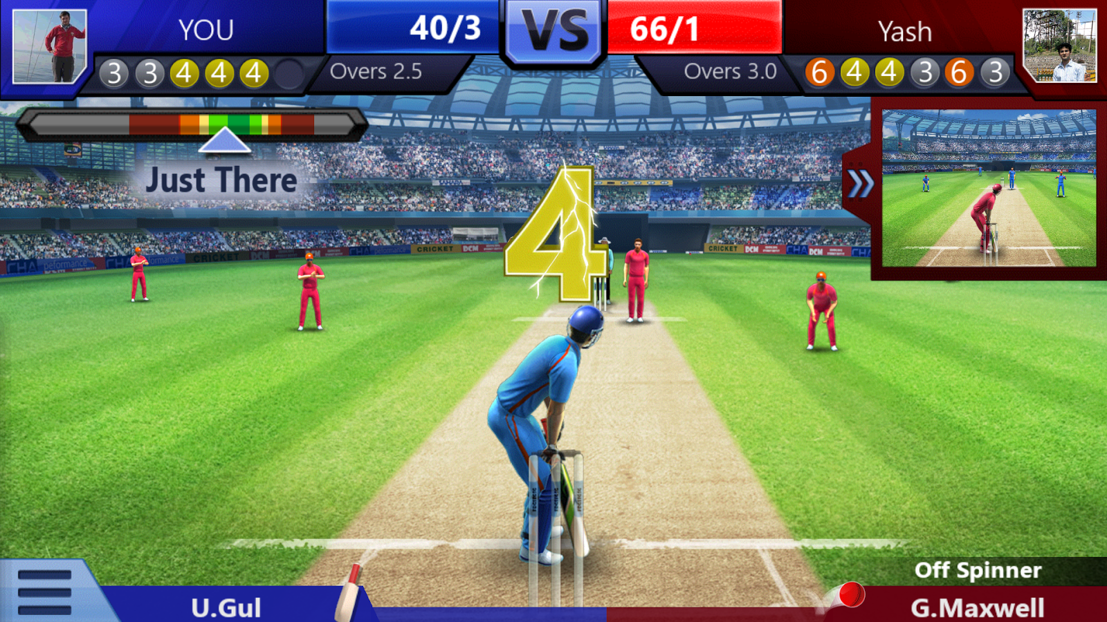 cricket online game play