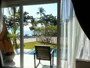 Photo: View from room of The BeachFront on see