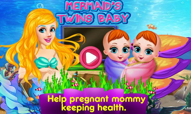 android Mermaid's Twins Baby-Preganant Screenshot 2