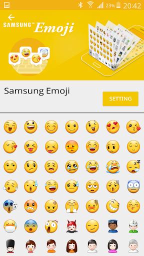 Emoji Switcher (NO ROOT) screenshot 1