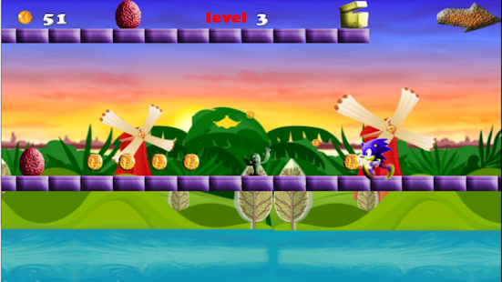 angry sonic runners adventure - náhled