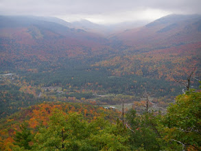 Photo: The village of Keene Valley with John's Brook Valley beyond.