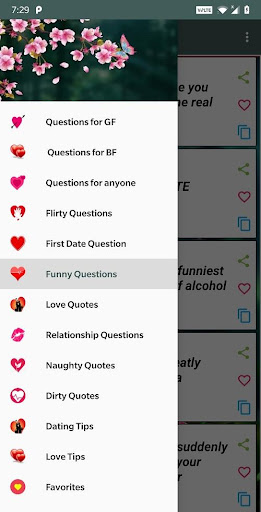 Romantic Questions to ask ud83dudc96 1.3 screenshots 1
