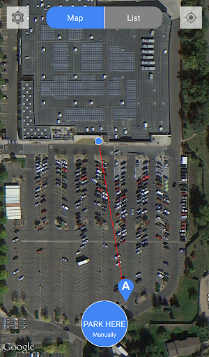 Automatic Parking Locator