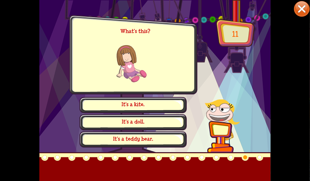 Poptropica English Island Game- screenshot