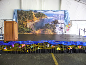 Photo: stage decorations