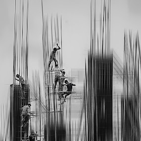 by Shyama Dev - City,  Street & Park  Street Scenes