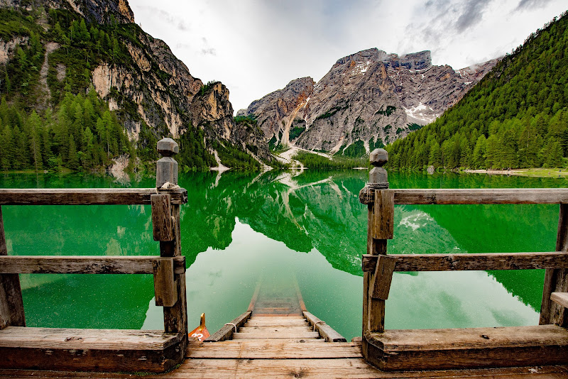 Lake the Braies di Doriana Frau