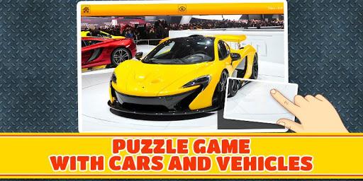 與汽車車輛照片拼圖