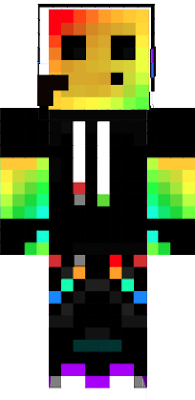 a rainbow slime boy