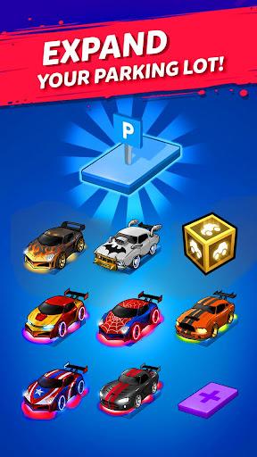 Merge Neon Car: Car Merger  screenshots 2