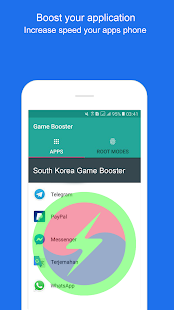 App South Korea Game Booster - Free Boost Mobile APK for Windows Phone
