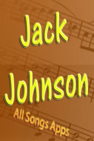 All Songs of Jack Johnson