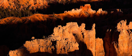 Photo: This is a pano re-edit of a favourite image of mine from Bryce Canyon. It is unbelievable how much of a difference a crop can make. I might actually like this version better than the original! Hope you guys like it too.  #WideWednesdayPanorama #TravelPanoWednesday #PlusPhotoExtract #photography #potd #FineArtPls #WowWednesday
